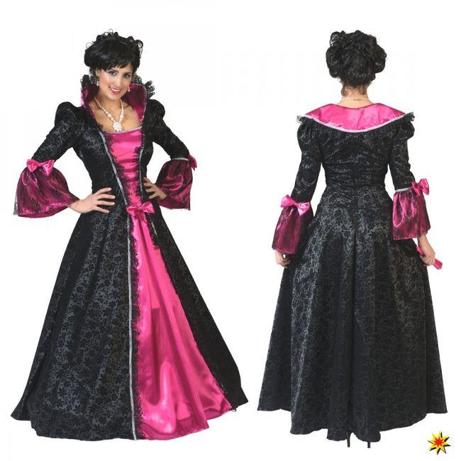 Kostüm Gräfin Victoria Kleid Barock Edeldame Sommerfest Festumzug Karneval Fasching Mottoparty