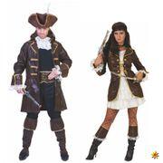Kostüm Piratin Jane Jacke barun Kleid Stulpen Seeräuberin Karneval