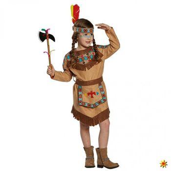 Kostüm Indianerin Baca, Mädchen Kleid