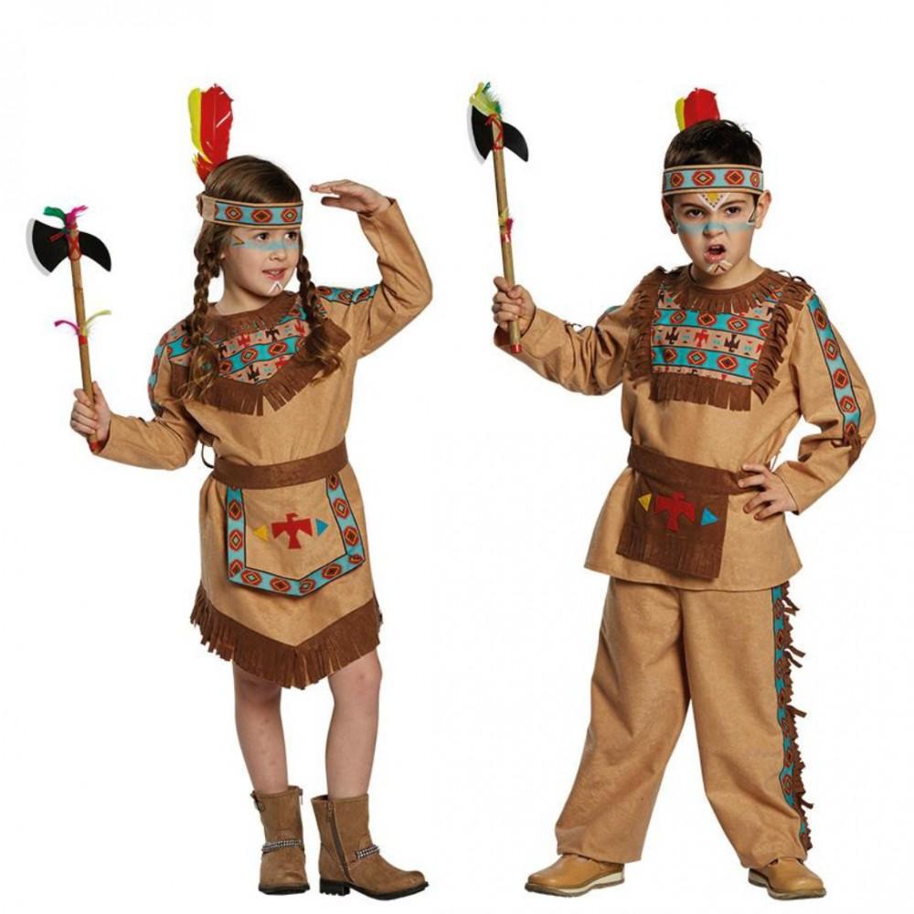 Jungen Kostum Indianer Barry Grosse 140
