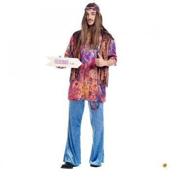 Kostüm Hippie Jonny, 70s Mottoparty
