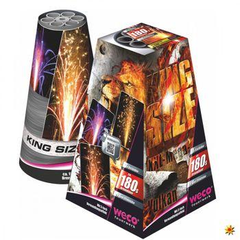 Bodenfeuerwerk Vulkan King Size - Weco Feuerwerk