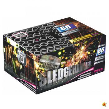 XXL Feuerwerk Batterie Sledgehammer 45 Sek. von Weco