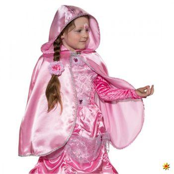 Prinzessin Umhang rosa, Kinder Cape