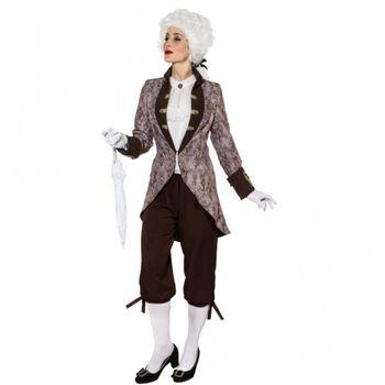 Kostüm Barock Lady, Kurzmantel Ornament
