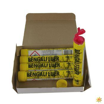 Bengalisches Feuer Gelb - 5 Stück