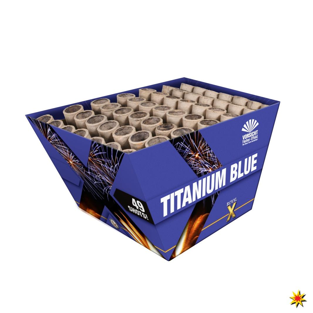 Lesli Titanium Blue - Silvesterfeuerwerk kaufen Pyrotechnik Onlineshop