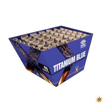 Feuerwerksbatterie Titanium Blue von Lesli