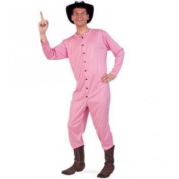 Kostüm rosa Cowboy Long John